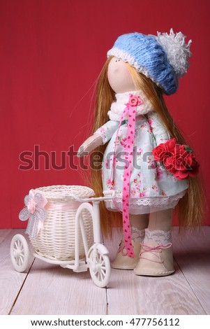 Textile doll.