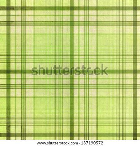 Textile green  pattern - stock photo