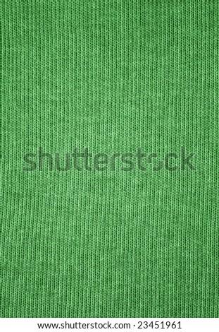 Textile pattern - green - stock photo