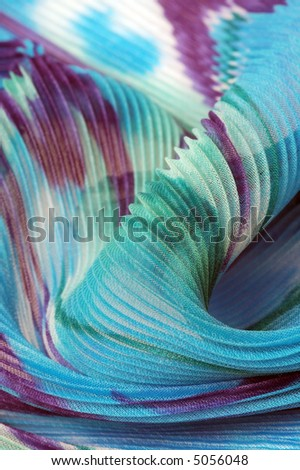 Textile wave background