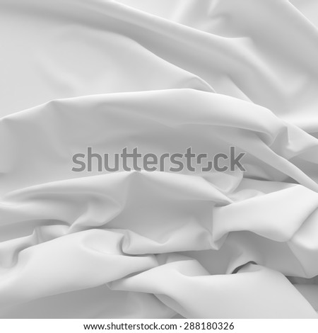 Textiles with folds for background.