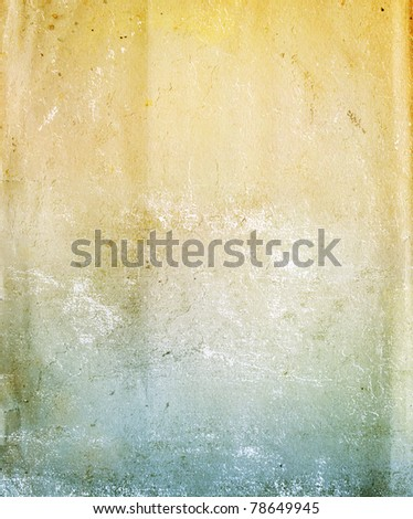 Texture - a sheet of the old, soiled paper - stock photo