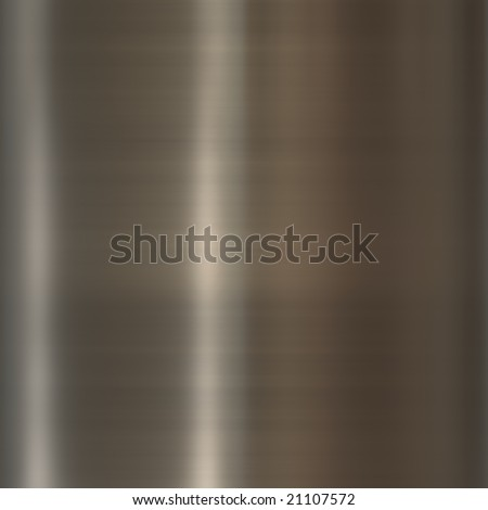 Texture background illustration of brushed glossy metal surface - stock photo