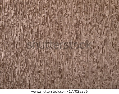 Texture background of beige corrugated paper - stock photo