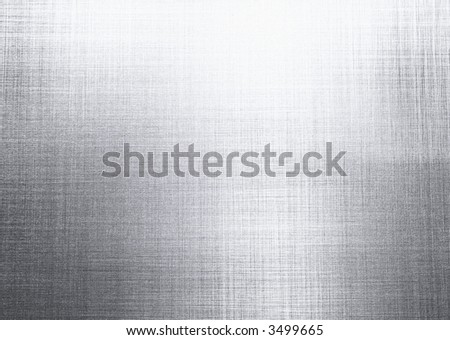 texture background of brushed steel - stock photo