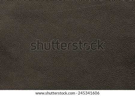 Texture background of dark brown leather for your work - stock photo