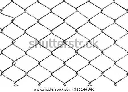 Texture background of mesh grilles, black and white.