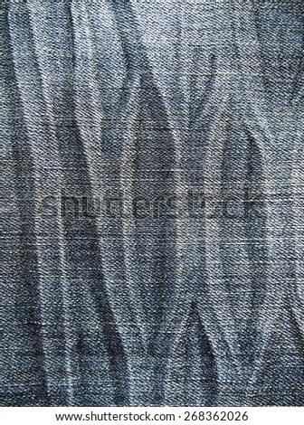 texture backgrounds old jeans color  - stock photo