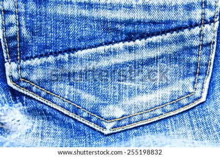 texture blue of jeans  for vintage background