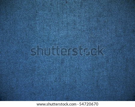 Texture denim. Cloth rough, worn, with small defects, slight darkening at the corners. Realistic fabric pattern for all purposes - stock photo