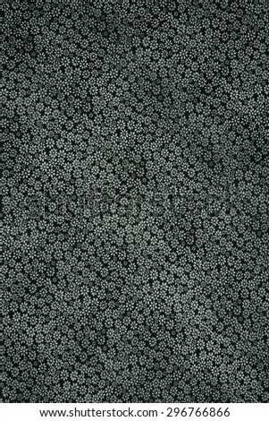 Texture fabric of small floral pattern
