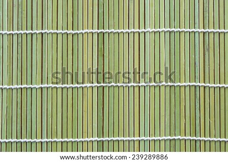 Texture from bamboo wooden background - stock photo