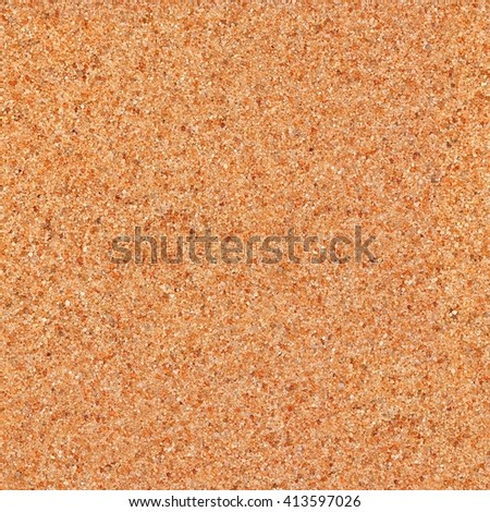 Texture from orange sand. Seamless square texture. Tile ready. - stock photo