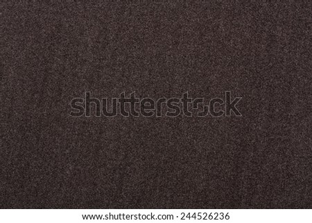Texture grey soft fabric. Felt is made of soft wool - stock photo