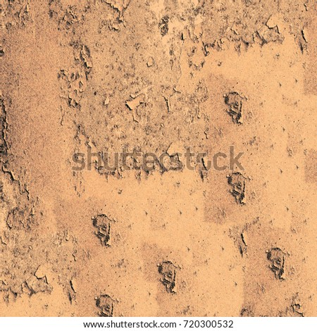 Texture grunge brown. Vintage background of the old surface. Distressed texture with cracks and stains