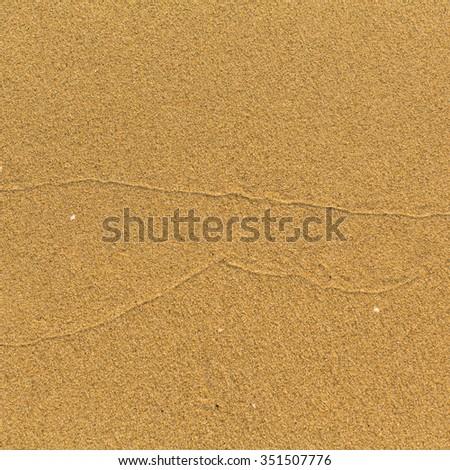 Texture is light sea beach sand. - stock photo