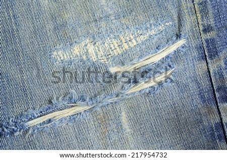 Texture jeans background