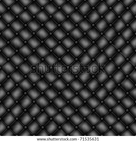 Texture leather quilted a sofa. Highly detailed surface of a leather sofa. - stock photo