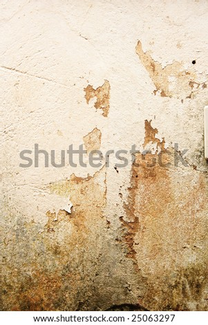 Texture made by an old painted wall. - stock photo