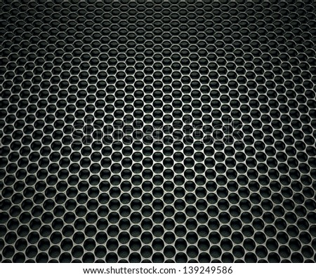Texture made of speaker's grill.