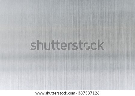 texture metal background of brushed steel plate. - stock photo