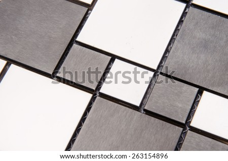 texture mosaic tiles, texture mosaic for the bathroom to the kitchen, floor and walls, used to repair the premises, structure design decor. shine - stock photo