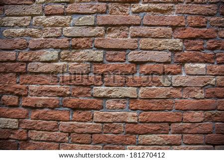 Texture of a brick wall (photo) - stock photo