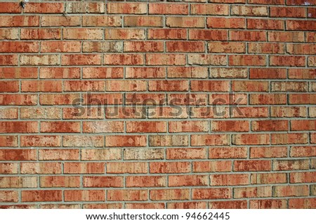 Texture of a brick wall suitable for backgrounds