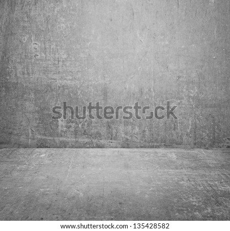 texture of an old cement wall - stock photo