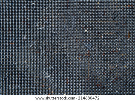 texture of artificial grey synthetic material - stock photo
