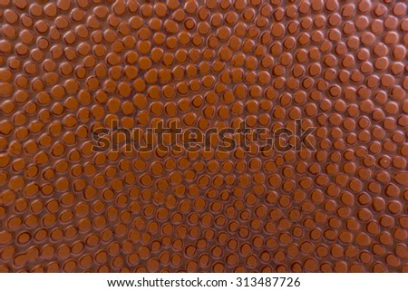 Texture of Basketball