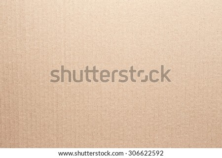 Texture of beige cardboard - stock photo