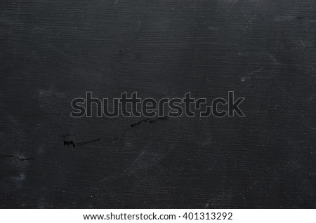 Texture of black chalk board - stock photo