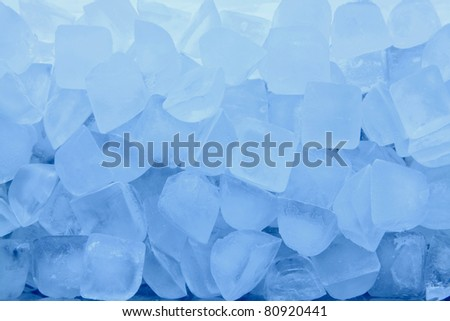 texture of blue ice background
