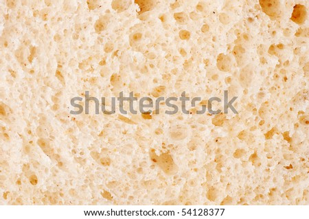 Texture of bread