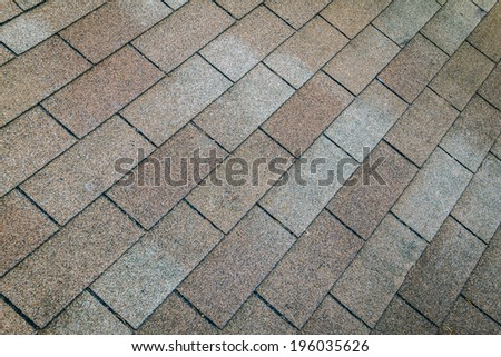 texture of brown roof,background - stock photo