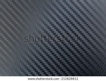 Texture of carbon kevlar fiber material for background - stock photo