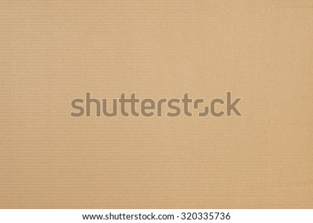 Texture of Cardboard, Carton, Brown Corrugated Paper - stock photo