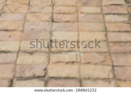 texture of cobblestone - stock photo