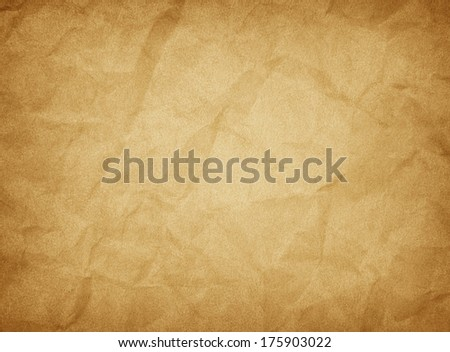 Texture of crumpled paper sheet.