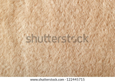 Texture of fleece