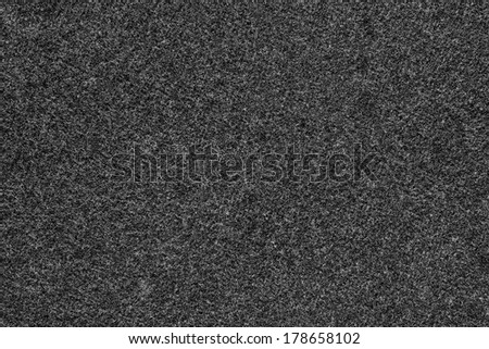 texture of gray fleecy fabric for abstract backgrounds and for wallpaper - stock photo