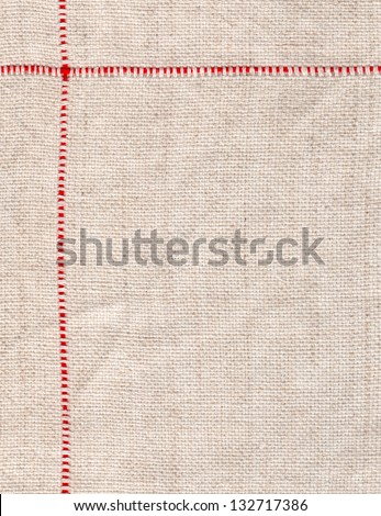 texture of linen for background - stock photo