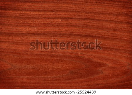 Texture of mahogany (high-detailed wood texture series) - stock photo