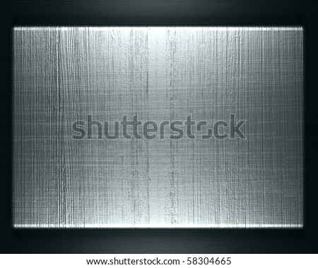 Texture of metal - stock photo