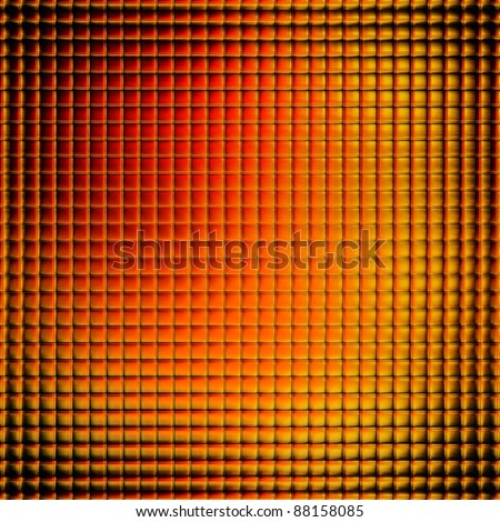 Texture of metal,gold and red colors - stock photo