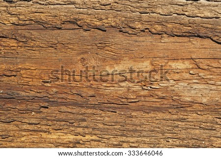 Texture of old boards                            - stock photo