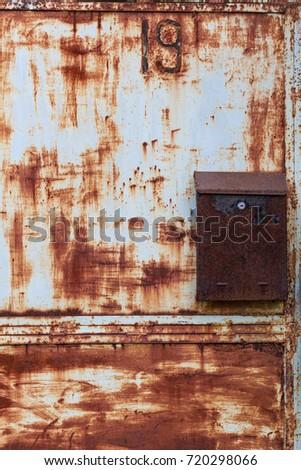 Old Metal Door texture Photo  Free Download