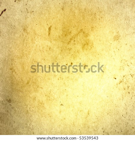 texture of old paper, can be used for the background - stock photo