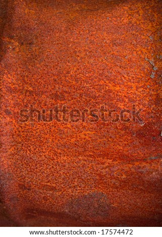 texture of old rusty metal surface - stock photo